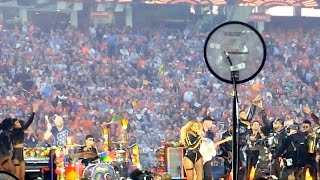 SUPER BOWL 50 HALF TIME SHOW - Beyonce, Coldplay & Bruno Mars - from the Field