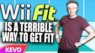 Proving Wii Fit is a terrible way to get fit