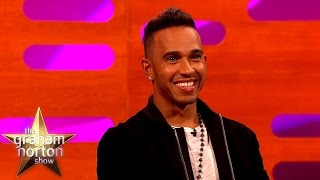 Lewis Hamilton Learns Dining Etiquette From The Queen - The Graham Norton Show