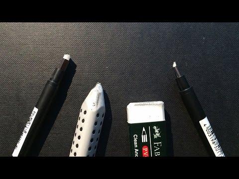 Materialien #2 Der Radiergummi ! 4 verschiedene im test!