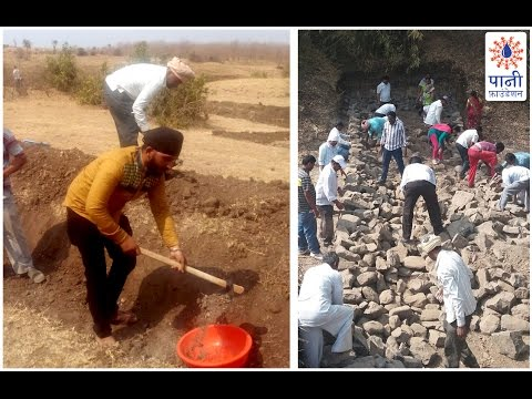 Sarkalwadi's Locals are Charmed by Singer Shaan's Show of Shramdaan (Marathi)