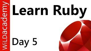 Ruby Programming - 5 - .split and arrays