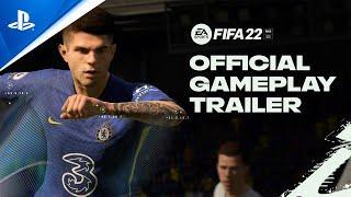 PlayStation FIFA 22 - Official Gameplay Trailer | PS5, PS4 anuncio