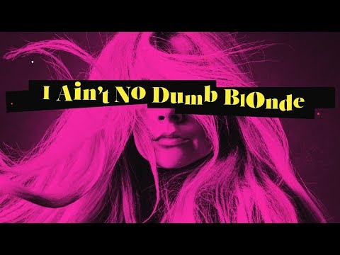 Avril Lavigne feat. Nicki Minaj - Dumb Blonde (Lyric Video)
