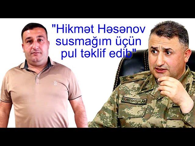 ŞOK: Tərtər faciələrində isgəncə görmüş hərbçi nələr açıqladı..