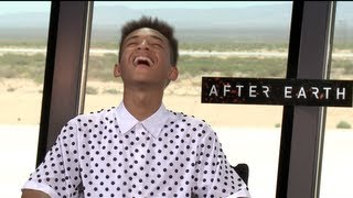 Джейден Смит, AFTER EARTH Interviews: Jaden Smith and Will Smith