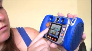Vtech kidizoom duo camera review - showing the menu and features