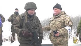 Полковник украинской армии возле аэропорта Донецка: