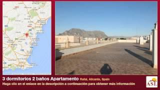 preview picture of video '3 dormitorios 2 baños Apartamento se Vende en Rafal, Alicante, Spain'