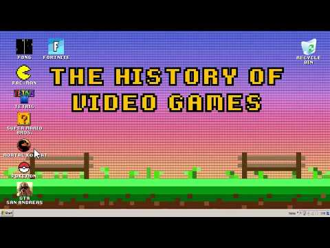 Animation/Game Graphics: Jennifer Chung - History of Video Games