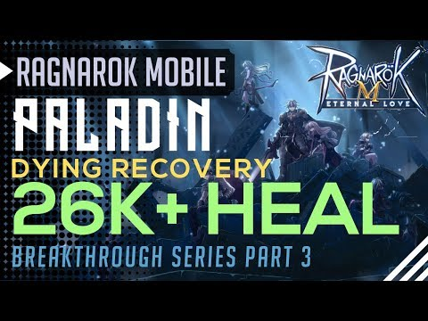Paladin Tank 26K+ HEAL Build Dying Recovery Heal| Breakthrough #3