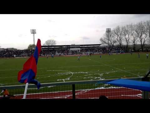 """""""banda azulgrana"""" Barra: Banda Azulgrana • Club: Deportes Iberia"""