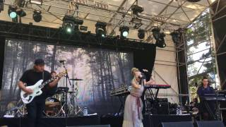 "Aurora, ""In Boxes"", Live At Laneway Festival, Auckland, New Zealand"