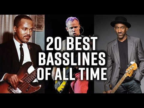 Scott's Bass Lessons - The 20 Best Bass Lines of All Time