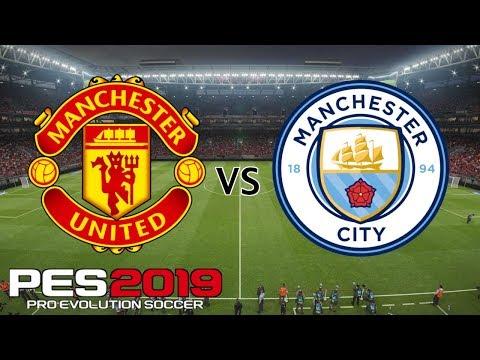 PES 2019 English Premier League Mode - Manchester United vs