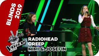 Radiohead   Creep (Mimi & Josefin) | Blind Auditions | The Voice Kids 2019 | SAT.1