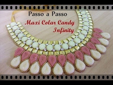 Maxi Colar Candy Infinity