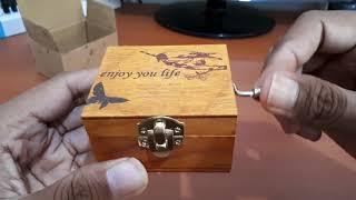Kotak Musik / Music Box Klasik Vintage Wooden