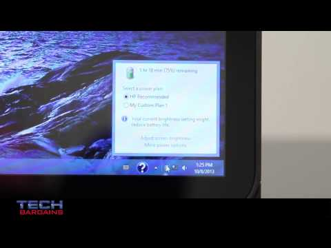 HP Pavilion TouchSmart 11 Video Review (HD)