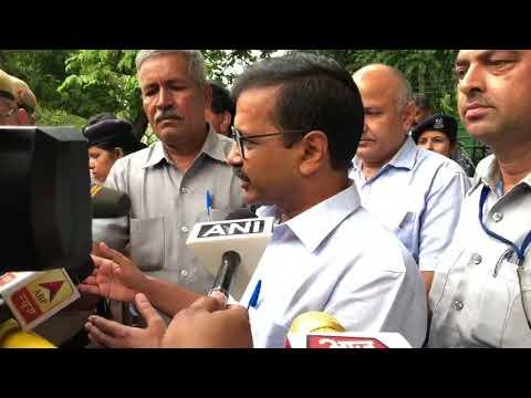 Delhi CM Arvind Kejriwal Media Byte After Meeting Home Minister Sh. Rajnath Singh