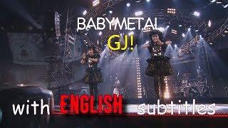 BABYMETAL - GJ! [English subtitles]   Live Compilation