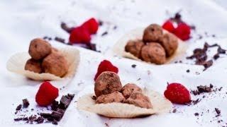 Chocolate Raspberry Truffles | Tasty Memories