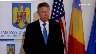Iohannis: Am adoptat împreună cu preşedintele Trump o declaraţie comună importantă pentru progresul Parteneriatului strategic
