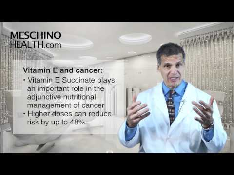 Video Vitamin E: magical supplement for many health conditions