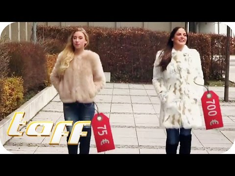 Teuer vs. Billig: Fake Fur und Designer-Stiefel im Check | taff | ProSieben