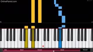 Jonas Blue - Mama - EASY Piano Tutorial