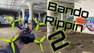Bando Rippin 2 | Quad Castle! FPV Freestyle | Fresh FalcoX ImpulseRC Apex 6s | Hero 7