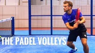 Padel volleys