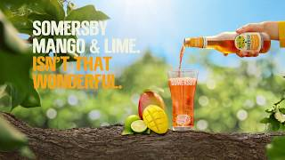 Somersby reklama Mango and Lime