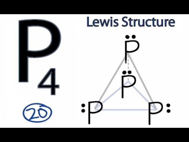 Video P4 Lewis Structure How To Draw The Lewis Structure For P4