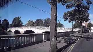 preview picture of video 'The Promenade Embankment Bedford UK July 2014'