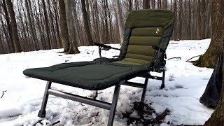 Кресло для рыбалки карповое раскладное f8 f8r elektrostatyk польша