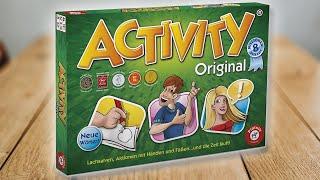 ACTIVITY - Spielregeln TV (Spielanleitung Deutsch zu ORIGINAL und KOMPAKT) Piatnik Spiele