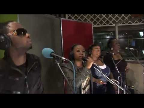 Stylo G & Lamarha Starr tribute:performs Bob Marley Turn The Lights Down Low @bbc