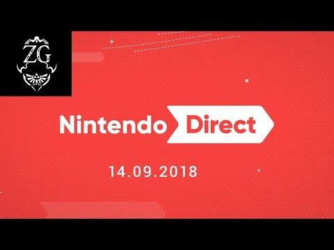 Nintendo Direct September 2018 Feedback (видео)