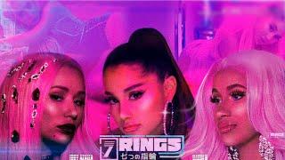 Ariana Grande, Iggy Azalea & Cardi B   7 Rings | Remix