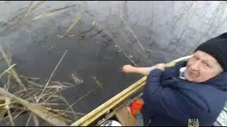 Рыбалка на селигере в январе