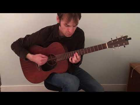 """""""Hold My Hand,"""" The Rutles cover, solo guitar instrumental"""