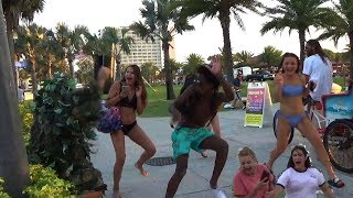 bushman prank clearwater beach s03ep01  share to win swag