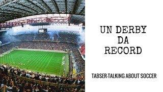 Un derby da record