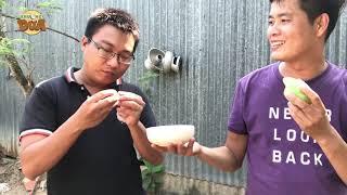 """Khương Dừa """"tàn phá"""" vườn trái cây chua, gặp ngay """"thánh ăn chua"""" kinh khủng khiếp!!!"""