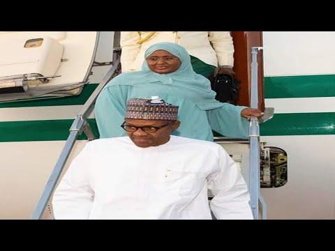 Yanzu Yanzu Baba Buhari Ya Sauka Lafiya A Gida Nigeria