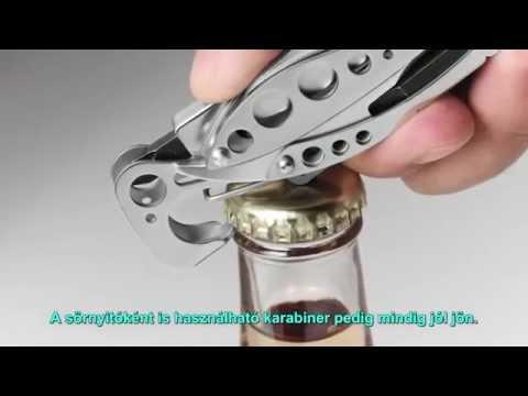 Leatherman SKELETOOL - multifogó + tok videó