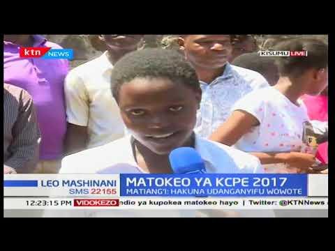 Mwanafunzi wa kwanza shule ya Golden Elites Kisumu, Cynthia atoa maoni yake kwa matokeo yake