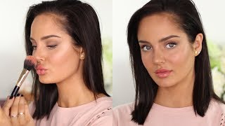 Quick Everyday Glam Look! 20 Minute Makeup \\ Chloe Morello