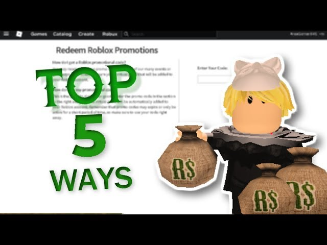 How To Earn Robux In Roblox How To Get Free Robux On Roblox Land